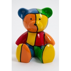 AION - 35cm - Statue ours ourson teddy bear taille S design puzzle