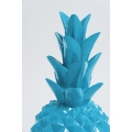 TEVELAVE - 70cm - Ananas origami taille M colori bleu turquoise