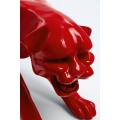 HIHYA- 120cm - Statue panthère taille L colori rouge