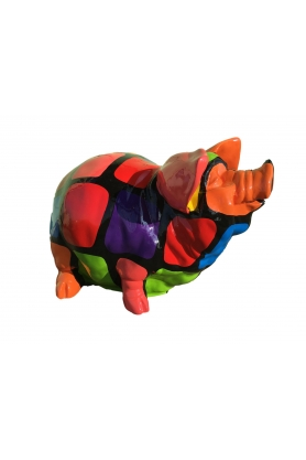 STATUE SCULPTURE COCHON 53CM DESIGN SMARTIES STYLE TIRELIRE
