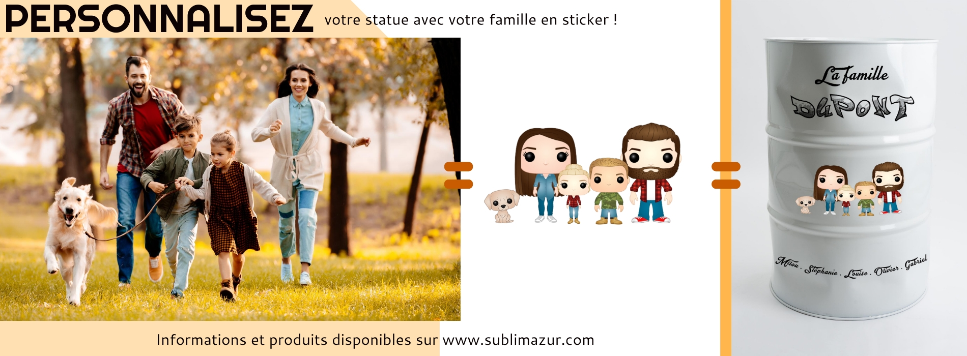 personnalisation famille